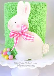 easter bunny cake ideas roundup of the best easter and springtime cakes tutorials and