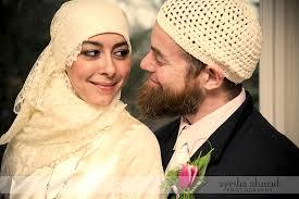 muslim and groom happy anniversary mahdiyah and jamil beauty is
