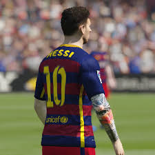 leo messi tattoo v1 fifa 15 at moddingway