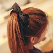 ribbon ponytail 9 adorable ponytail hairstyles that you ll hairclippercenter