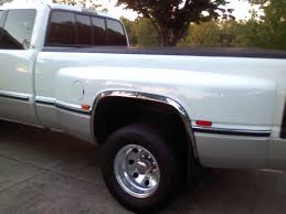 Dodge Ram 97 - where to find chrome fender lip covers 94 02 3500 dually dodge