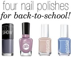 4 perfect nail polishes for back to college fashion