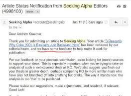 Where To Seeking How I Published My Article On Seeking Alpha And Got Paid