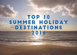 top 10 sun destinations 2016