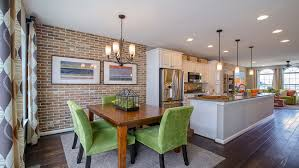 brick yard station traditional and urban garage townhomes new