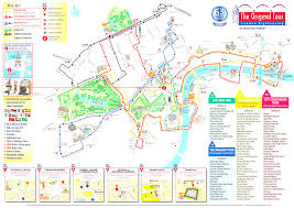 Map Of London England by Tour Bus Maps Prepossessing London England Tourist Attractions Map