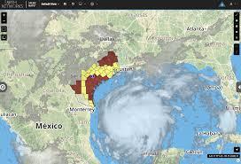 Texas Coast Map Harvey Forecast To Be Major Hurricane At Texas Landfall