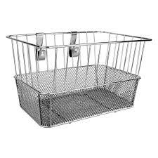 sunlite standard mesh bottom lift off front basket with bracket pink