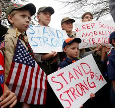 boy scouts propose lifting ban sfgate