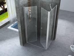 box doccia cristallo 80x80 box doccia cristallo 6 mm 2 lati frameless fisso piu porta