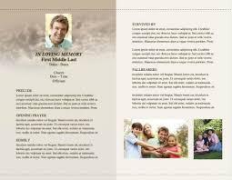 Funeral Program Ideas Funeral Service Bulletin