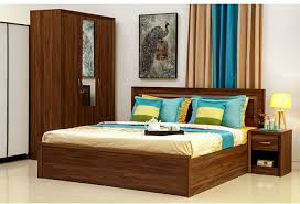 Buy Mattress Online India Flipkart Hometown Stark Engineered Wood King Bed With Storage Price In