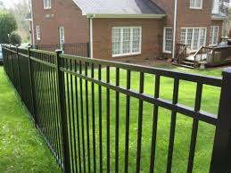 aluminum vinyl fencing privacy fences wood fence installation