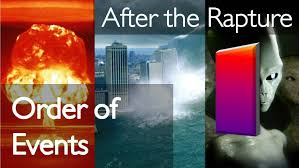 order of events after the rapture letter from jesus