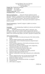 Sample Resume For Camp Counselor Residential Counselor Job Description Resume Free Resume Example