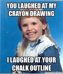 Creepy Meme - mullet girl