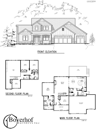 Two Story Floor Plans by Two Story House Plans Master On Main 12 Nice Design Home Pattern