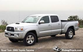 2008 toyota tacoma weight pickuptruck com road test 2008 toyota tacoma