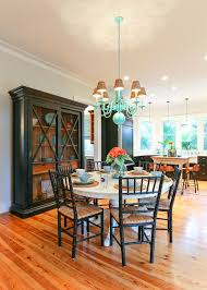 Dining Room With China Cabinet by Distressed China Cabinet Dining Room Beach With Chalk Paint China