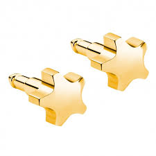 ear piercing studs shapes gold plated ear piercing studs