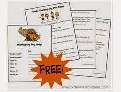 thanksgiving play adverbs extensions and thanksgiving