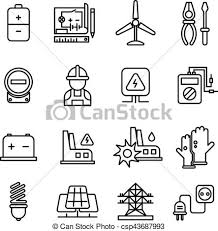 eps vectors of electricity industry electrical engineering vector
