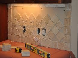 creative ceramic tile backsplash patterns on kitchen design ideas