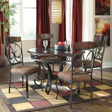 quality dining room furniture ashley furniture glambrey round dining table set best priced