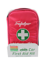 car first aid kit pink safety u0026 medical kit by trafalgar