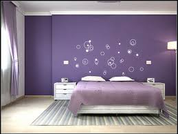 Home Decorating Color Schemes by Purple Bedroom Color Schemes With Unique Wall Art 25 Bedroom