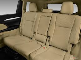 toyota highlander how many seats toyota highlander prices reviews and pictures u s