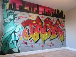 bedroom wall graffiti murals new york style graffit bedroom mural