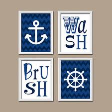Nautical Bathroom Curtains Shop Nautical Anchor Shower Curtains On Wanelo