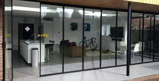 Frameless Patio Doors Bi Fold Glass Doors Large Size Of Patio Door Design Glass