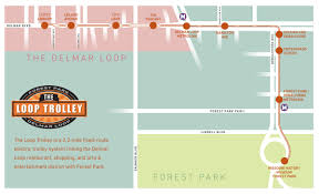 Metrolink Route Map by Will The Loop Trolley Ease Delmar Congestion And Parking St