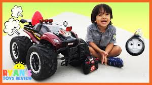 monster trucks kids video giant rc monster truck remote control toys cars for kids playtime