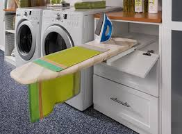 Ways To Make The Most Of Your Laundry Room - Ironing table designs