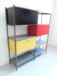 Steel Storage Cabinets Colorful Industrial Metal Storage Cabinet By Wim Rietveld For