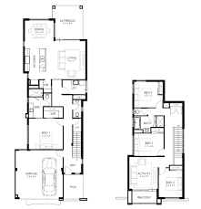 Impressive 4 Bedroom House Plans Minimalist Awesome 10m Frontage Home Designs Gallery Decorating