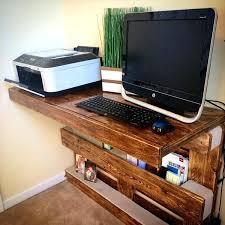 Computer Built Into Desk Diy Computer Built In Desk Hostgarcia