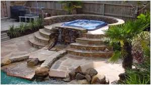 Backyard Patio Ideas With Fire Pit by Backyards Beautiful Backyard Fire Pit Hot Tub Ideas Home Design