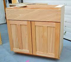 building kitchen base cabinets diy kitchen cabinets step by step woodworking plans link to