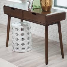 modern wooden console tables belham living carter mid century modern console table hayneedle