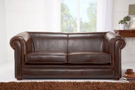 Chesterfield Leather Sofa by English Chesterfields By Saracen Leather Furniture