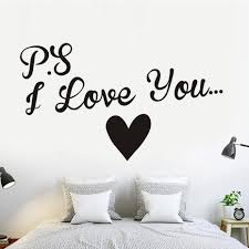 popular wall stencils quotes buy cheap wall stencils quotes lots vinyl i love you heart wall art sticker wedding room quote decal mural pvc stencil diy