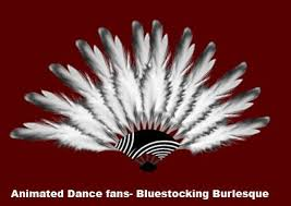 burlesque fans second marketplace bluestocking burlesque animated