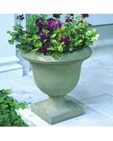 Stone Urn Planter by Amazing Deal On Smithsonian Goblet Cast Stone Urn Planter
