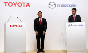 mazda corp mazda could expand alliance with toyota executive