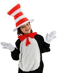 cat in the hat costume dr seuss cat in the hat kids costume kit candy apple costumes