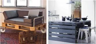 canapé en palette de bois d brico on recycle les palettes de bois